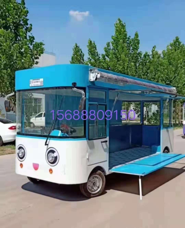 出口美食小吃车,欧准新能源供应的美食电动餐车怎样