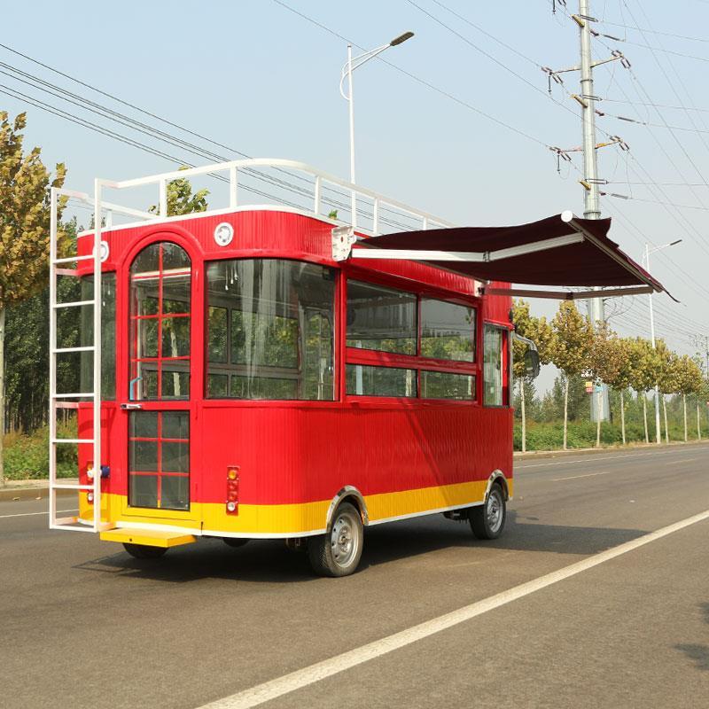 好用的美食电动餐车推荐,精巧的美食小吃车