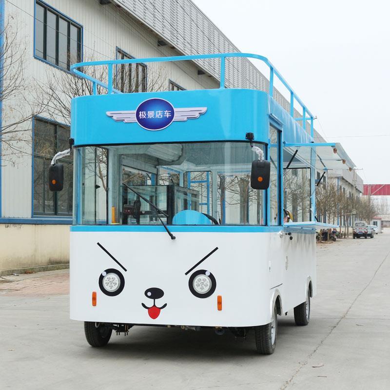 实惠的美食电动餐车推荐|供应美食小吃车