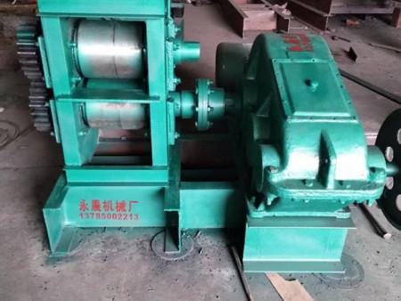 河北永晨机械厂生产的冷轧锚杆机销往黑龙江等地