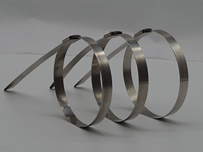 不锈钢扎带4.6X300MM厂家-浙江口碑好的本色不锈钢扎带厂家