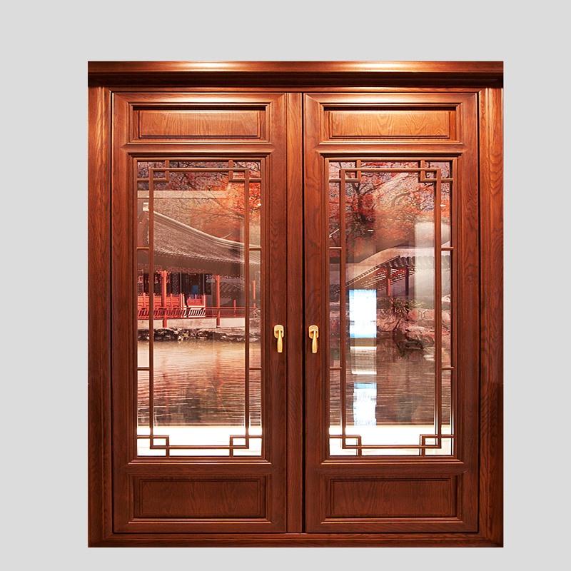 墨瑟推拉门专卖店|为您推荐信阳墨瑟窗业不错的信阳墨瑟中国风实木门窗