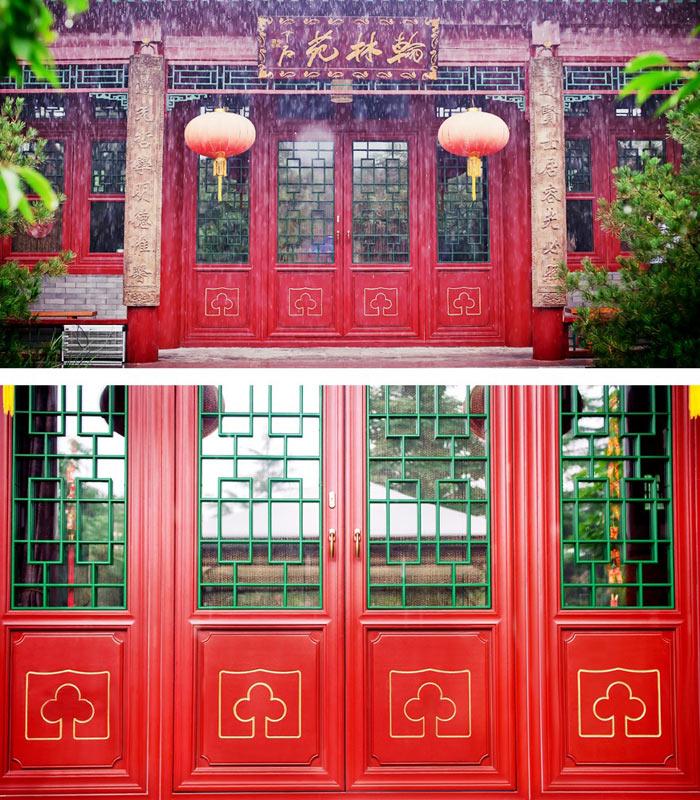 新款墨瑟推拉门-上哪买优惠的信阳墨瑟中国风实木门窗