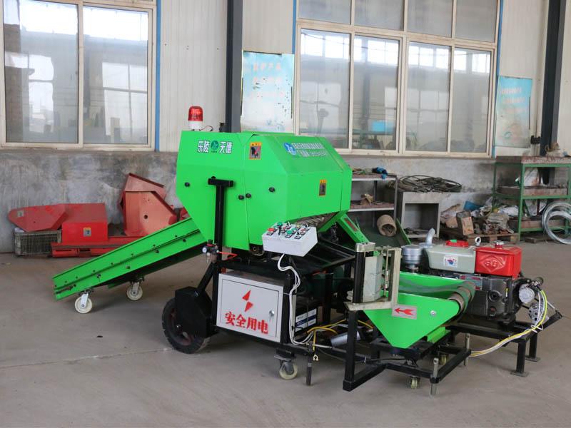 全自动青贮打捆机厂家_大量供应质量优的青贮打捆机包膜机