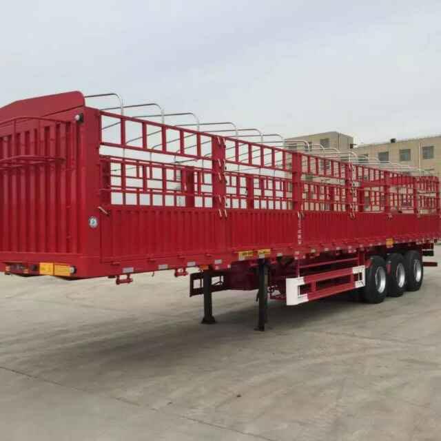 西藏全新仓栏半挂车订做|济宁哪家生产的仓栏半挂车可靠