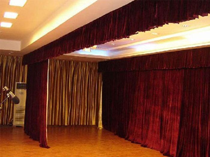 2019年专注生产销售宁夏电动舞台幕的厂家就找图兰朵