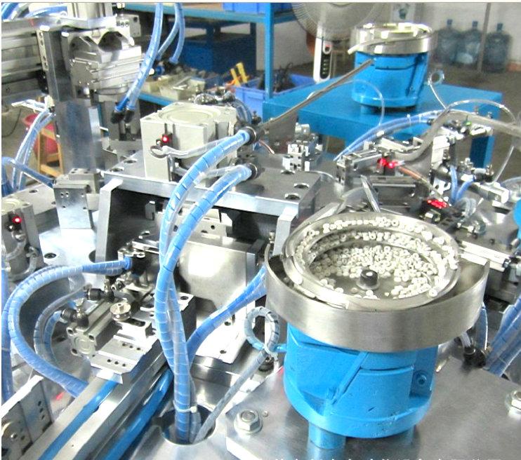 宁波自动组装机-全自动组装机-感应器组装机
