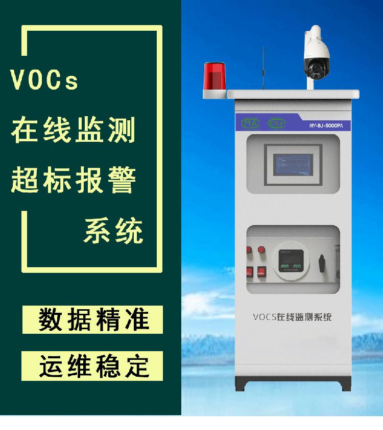 廣東標準VOCs在線監控設備家具汽修行業VOC濃度超標報警器