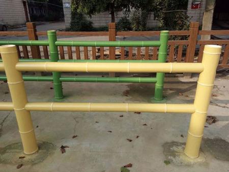 水泥仿竹护栏加工厂//水泥仿竹护栏厂家