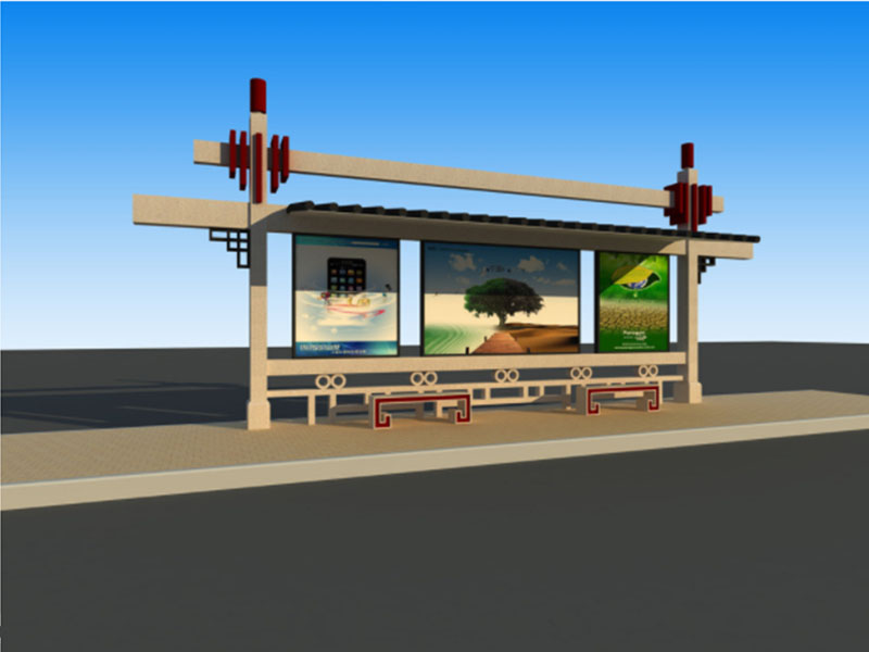 智能候车亭|声誉好的城市公共设施供应商当属汉唐