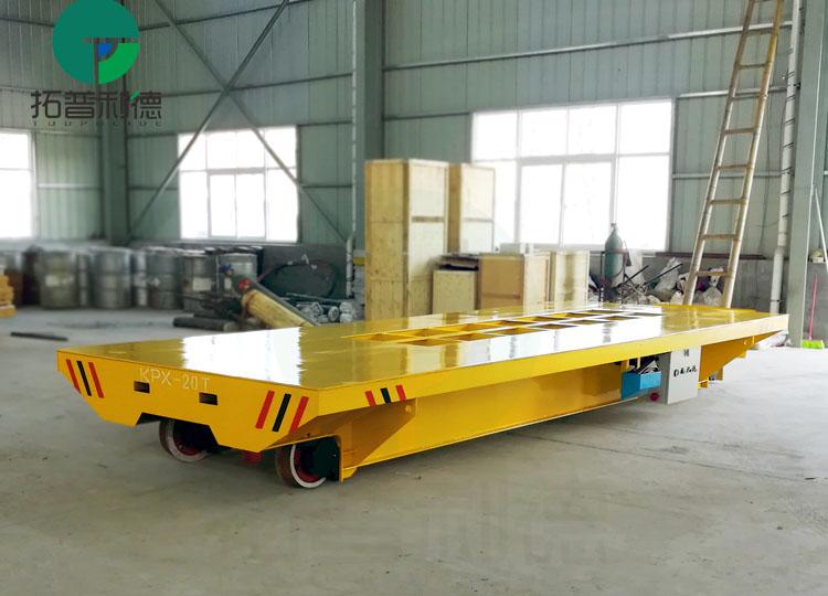 江苏专业轨道电动平车生产厂家 供应转弯蓄电池电动运渣台车
