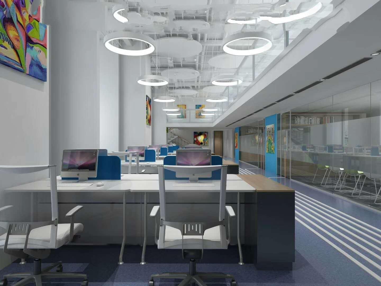 越秀办公室装修设计公司排名/办公室装修设计哪家好/国盛装饰