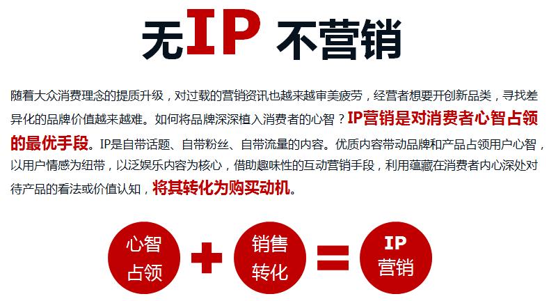 IP营销,IP整合营销,泛娱乐IP联合推广--云南热度网络