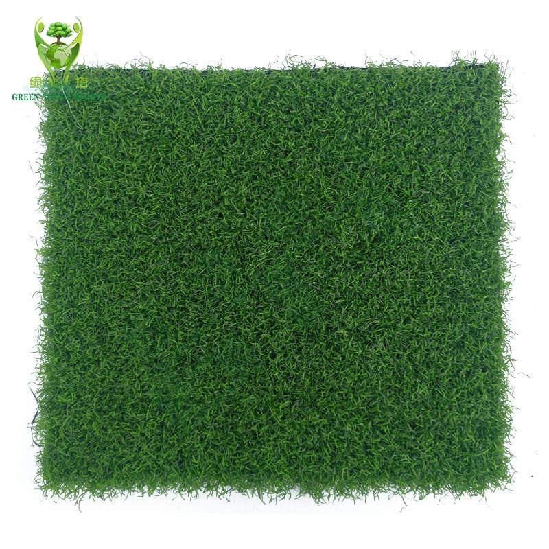 仿真草坪工厂直销门球场专用人造草坪地毯户外高尔夫果岭草卷曲草