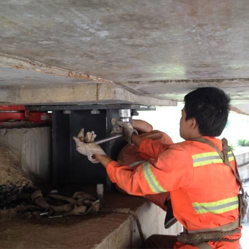北京更換橋梁支座|鐵路橋梁支座更換施工