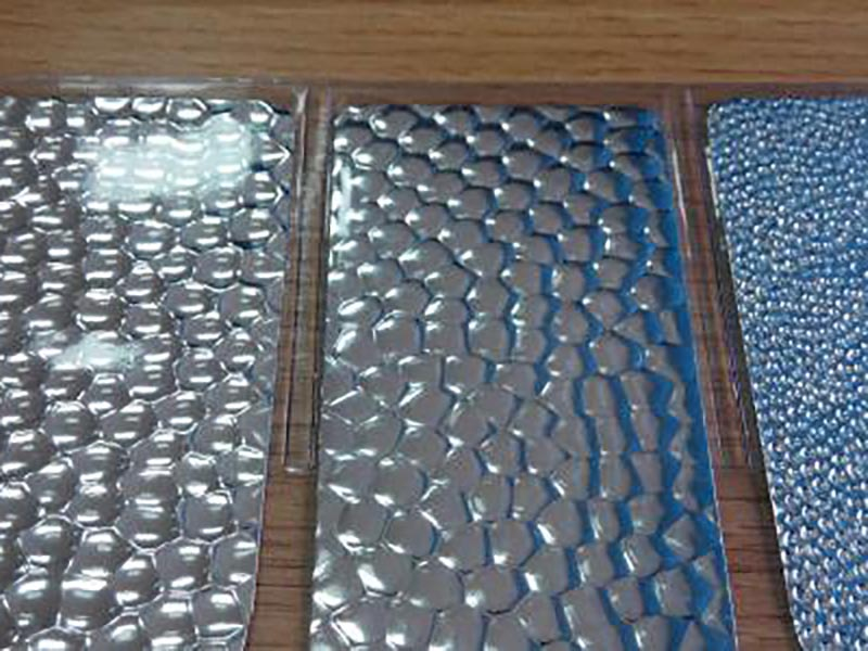 山东压花铝板供应商_雪峰制冷供应高质量的压花铝板