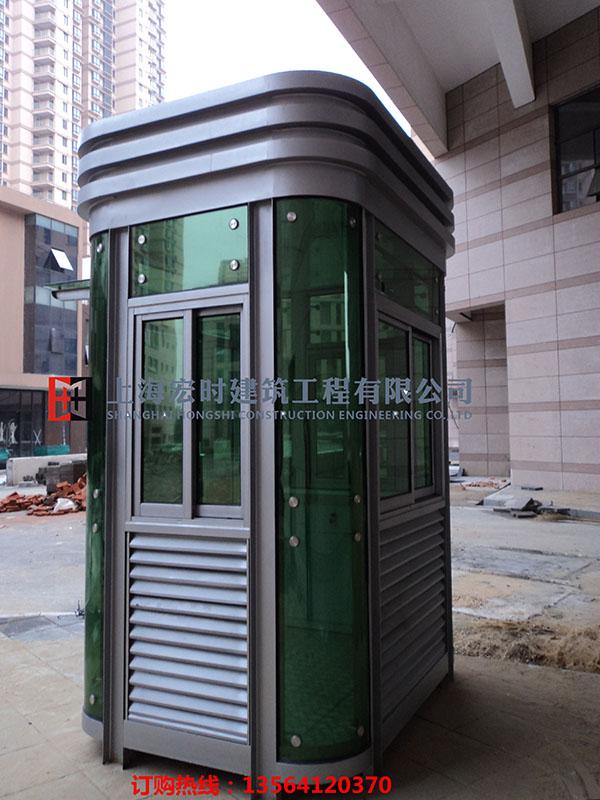 实惠的钢结构岗亭尽在上海宏时建筑工程