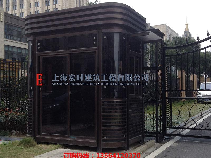 上海市知名的钢结构岗亭厂商推荐