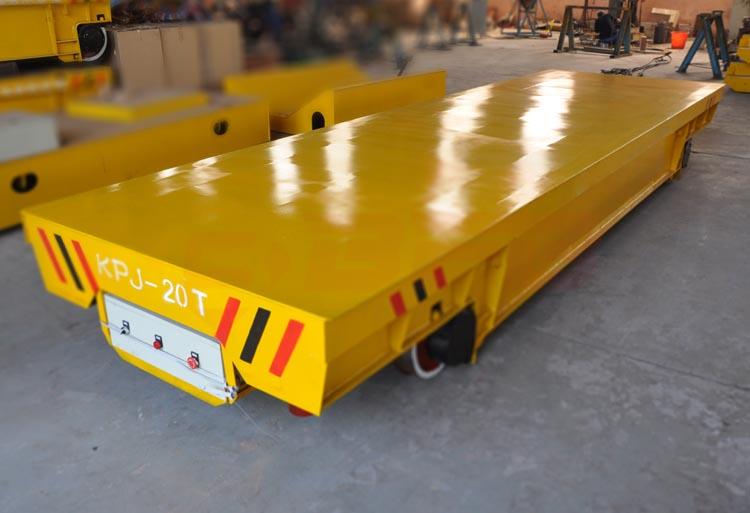 江苏供应20吨轨道搬运电动平车 转弯式电动平车佳能高效