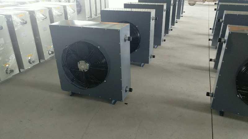 XQ-50蒸汽暖风机外形与构造