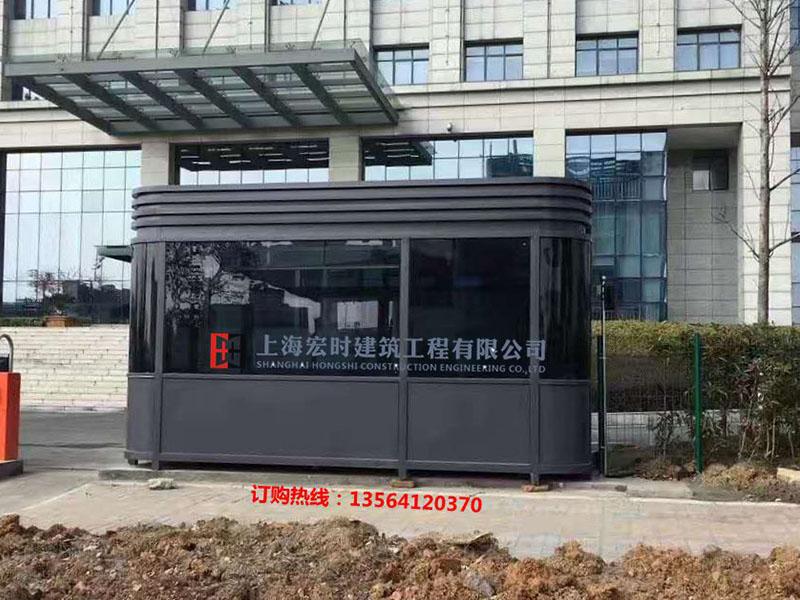 大量出售上海市优良的钢结构岗亭