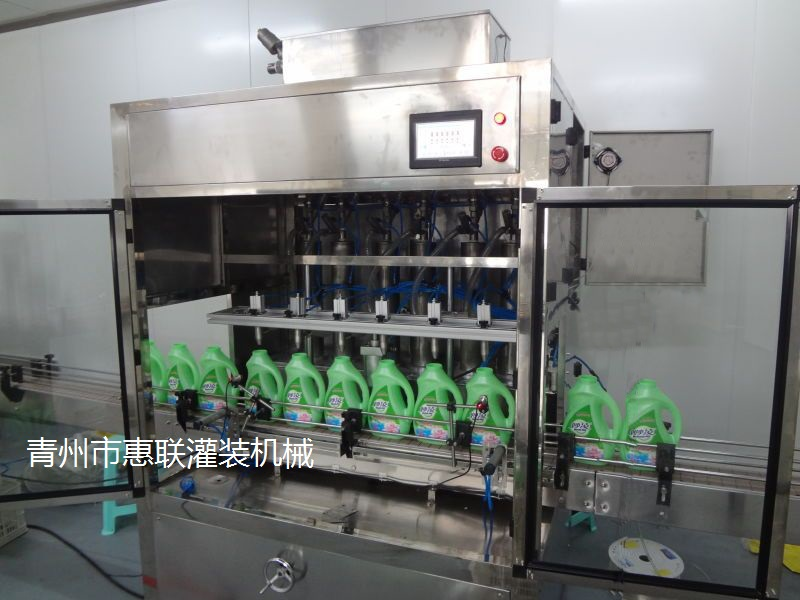洗衣液灌装机多少钱自动化洗衣液灌装设备厂家