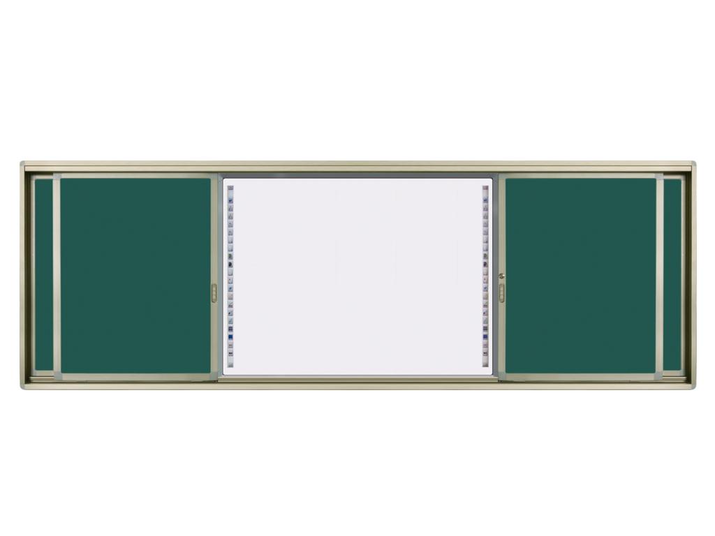 深圳市宝安公明马山头推拉绿板|液晶书写板|教学板|光能黑板