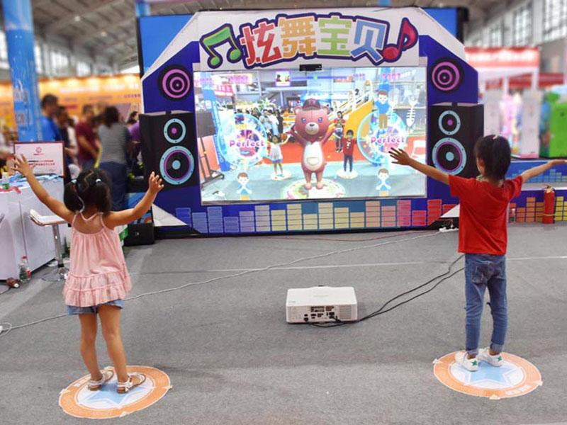 湖北神笔画画水族馆-广州价格优惠的炫舞宝贝体感跳舞游戏机推荐