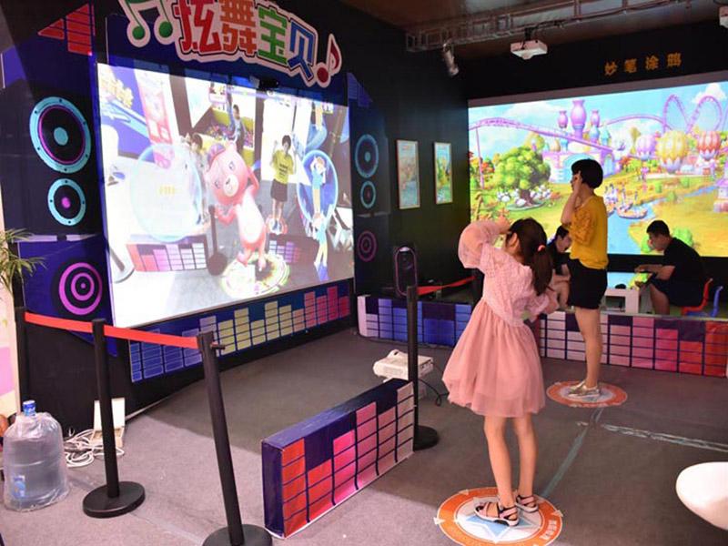 江苏神笔画画水族馆-广州物超所值的炫舞宝贝体感跳舞游戏机推荐