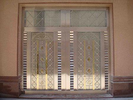 陕西不锈钢门|庆阳铭帝耐用的甘肃不锈钢门供应