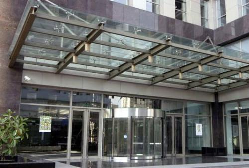玻璃雨棚厂家供应-供应陕西高质量的玻璃雨棚