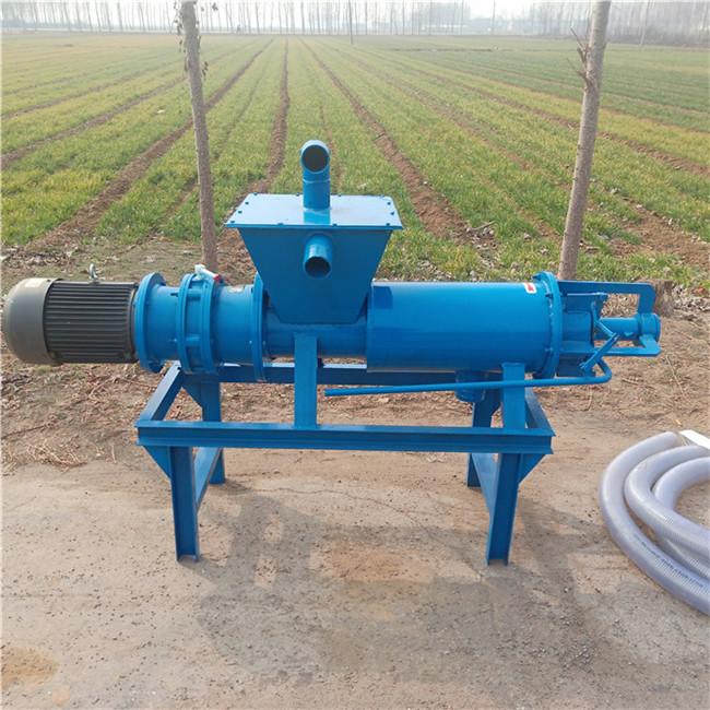 养殖环保新设备粪便脱水机干湿分离机产品简介