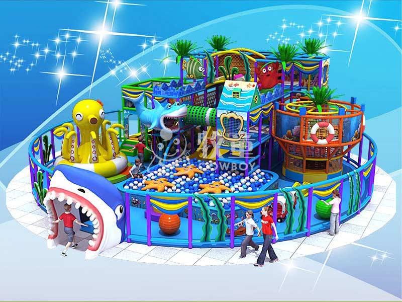 商场淘气堡定制,广东室内儿童乐园设施