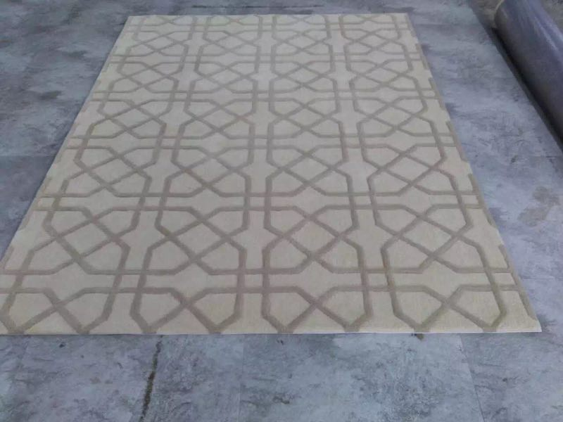 進口手工定制羊毛、真絲地毯廠家