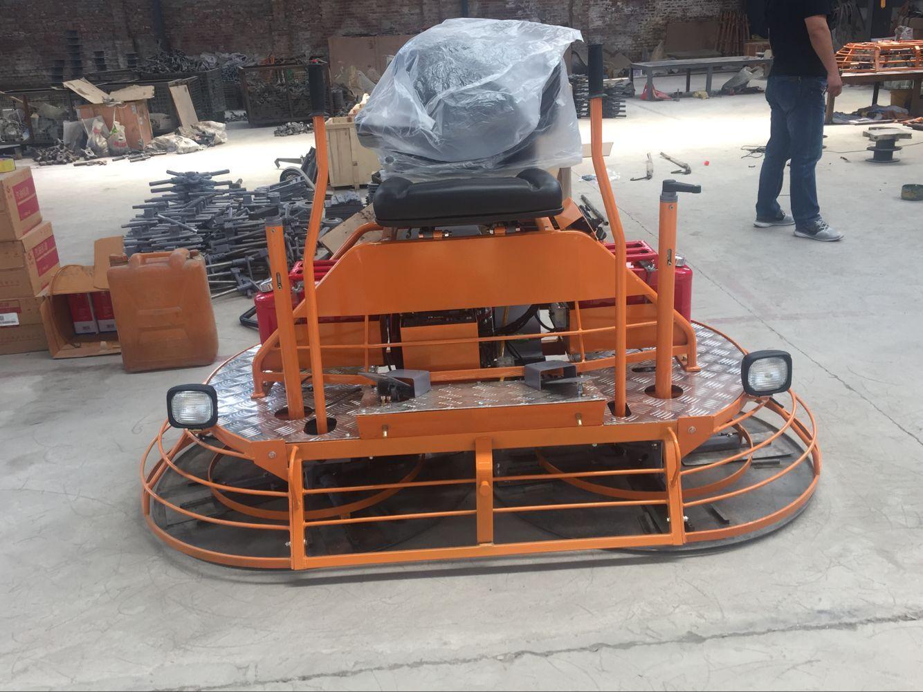 混凝土磨光机值得您购买的坐人式水泥抹光机汽油抹子