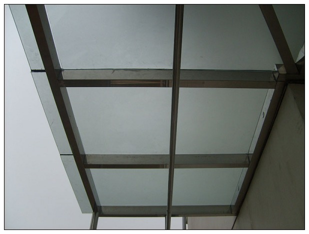 铜川玻璃雨棚