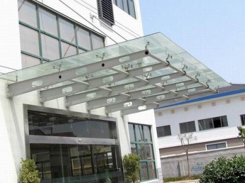玻璃雨棚哪個可信賴-在哪里能買到好的榆林玻璃雨棚
