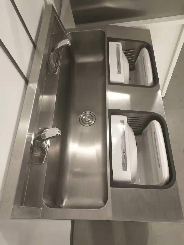 湛江市无尘室专用洗手台 订制非标洁净洗手台