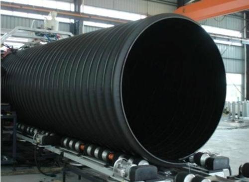 HDPE钢带增强螺旋波纹管安装_飞牛管道供应物美价廉HDPE螺旋波纹管