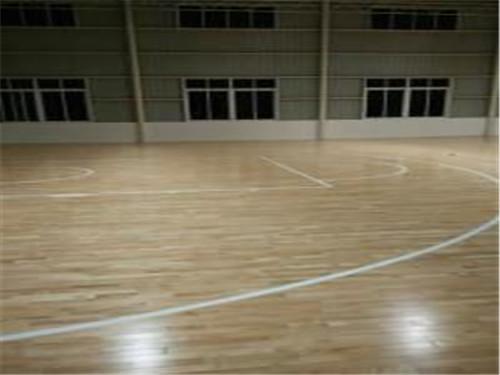 羽毛球馆木地板_有品质的篮球馆运动木地板艺科体育供应
