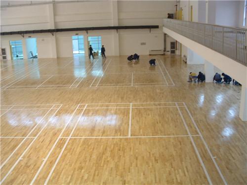 运动木地板制造公司_买性价比高的篮球馆运动木地板优选艺科体育
