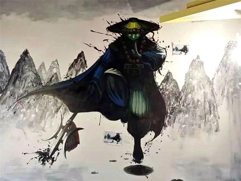 【图片】青州墙绘,发几张墙绘,手绘墙作品