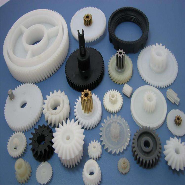 厂家直销尼龙齿轮  耐高温 高硬度 尼龙制品 轴轮 滑轮