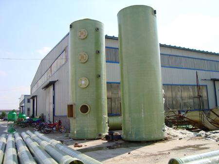 脱硫除尘玻璃钢脱硫塔 玻璃钢净化塔厂家智凯
