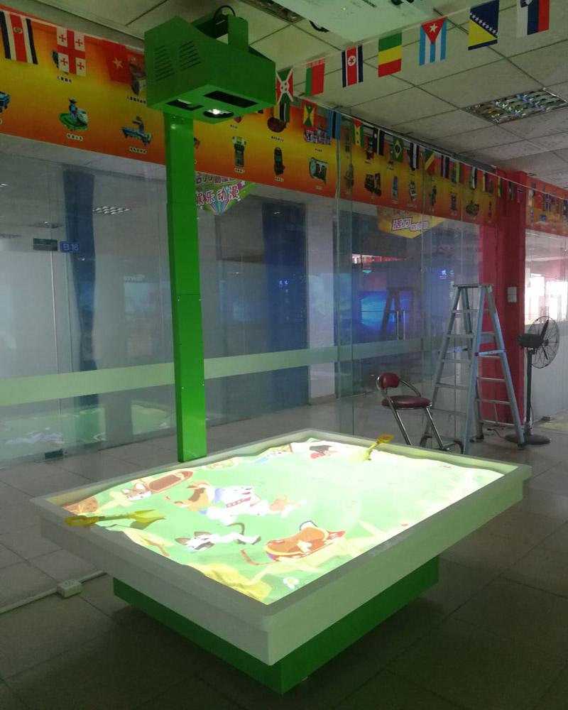 湖北魔幻沙盤投影游戲|優良互動AR投影游戲批發
