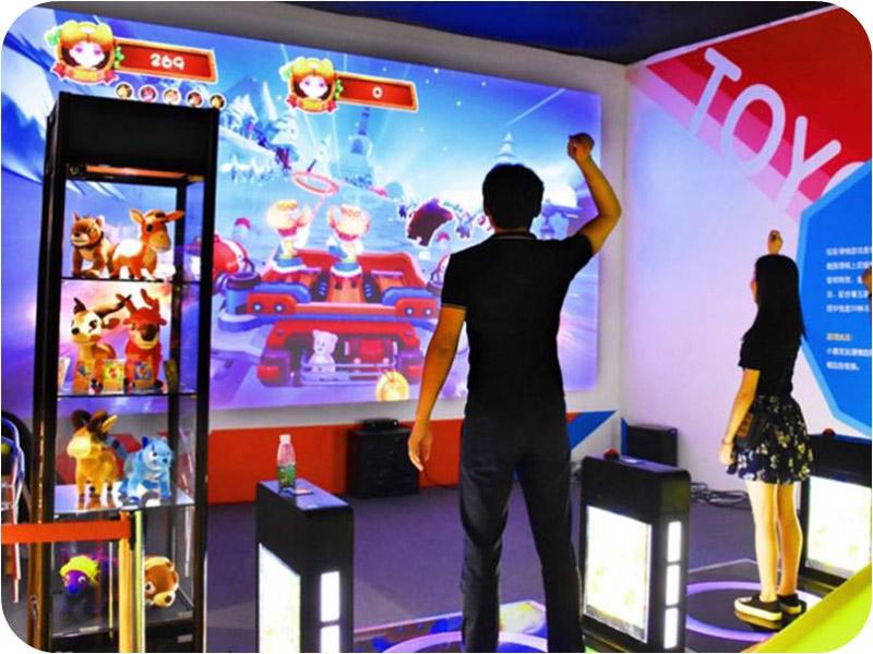 AR互动投影体感游戏机玩具小屋厂家内容
