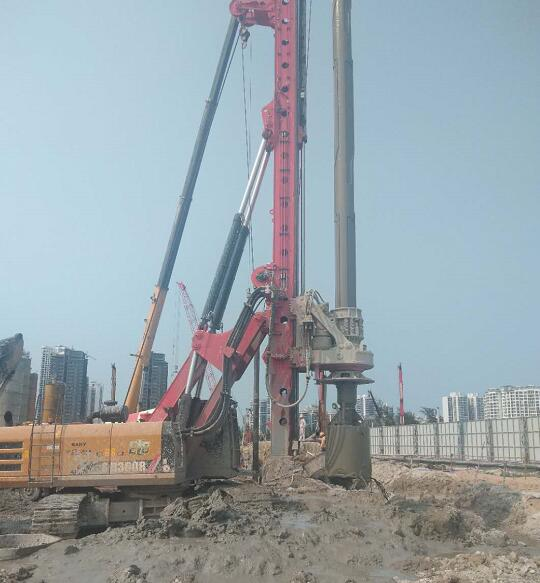 海南旋挖钻机租赁