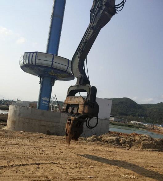 三亞旋挖鉆機設備出租|海口哪里有口碑好的海南浩烜市政旋挖鉆機租賃