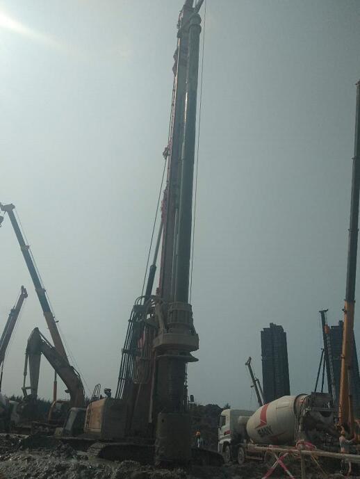 海南浩烜市政工程旋挖钻机租赁