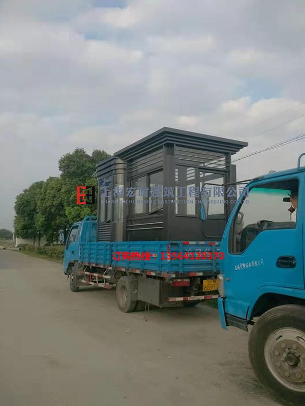 供应上海市有品质的钢结构岗亭